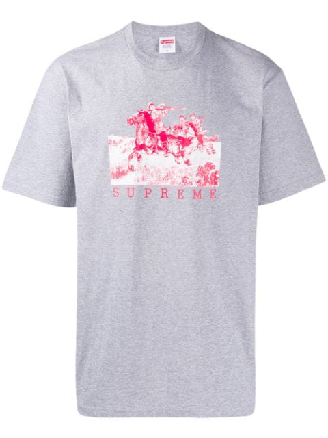 Supreme Riders T-shirt In Grey