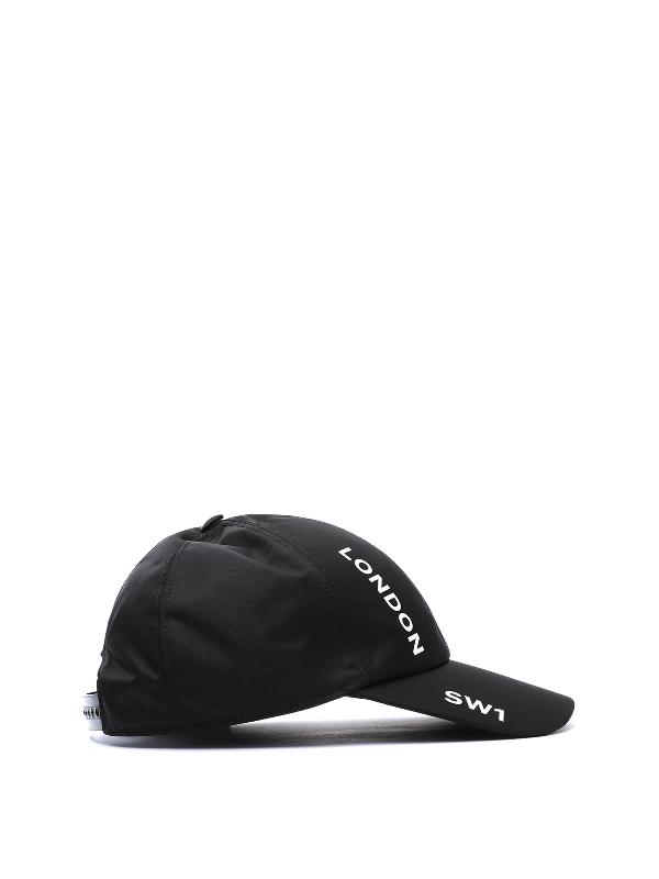 Burberry Horseferry Print Baseball Cap In Black
