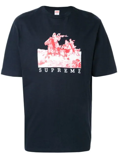 Supreme Riders Tee In Blue