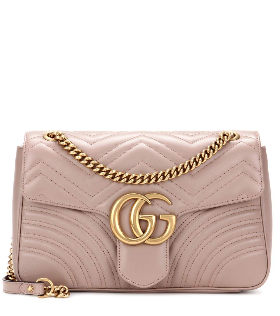 73d14e365 Gucci Gg Marmont Medium Shoulder Bag In Neutrals | ModeSens