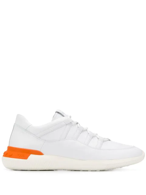 Tod's Lace-up Sneakers In White