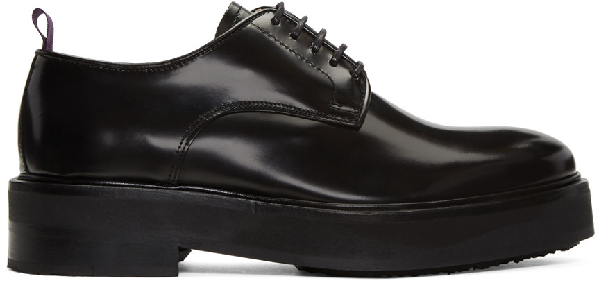Eytys Kingston Lace-up Derby Shoes In Black