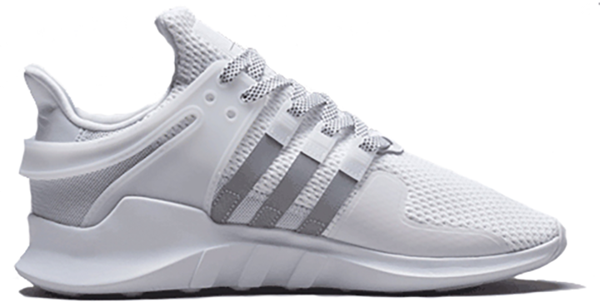Pre-owned Eqt Support Adv 91-16 Art Basel In White/metallic Silver