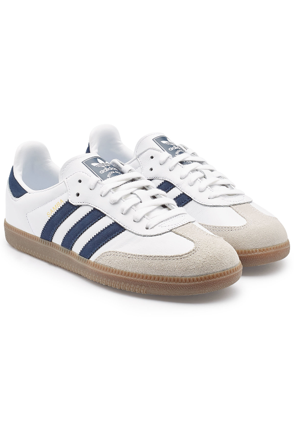 pretty nice ec988 58e12 Adidas Originals Samba Og Sneakers In White B75806 - White