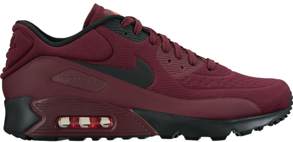 Pre-owned Nike Air Max 90 Ultra Bordeaux In Night Maroon/bright ...
