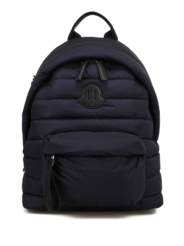 Moncler Pelmo Blue Nylon Backpack