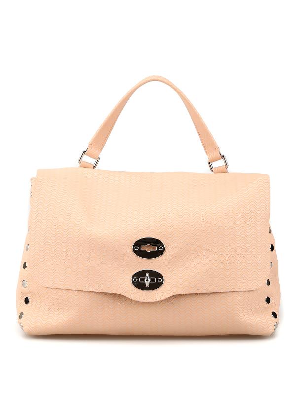 Zanellato Postina M Arche Ballerina Tone Bag In Pink