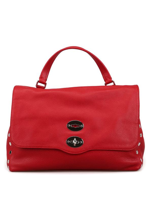 Zanellato Postina Baby Daily Amaranto Bag In Dark Red