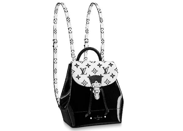 Louis Vuitton Pop Hot Springs Backpack Monogram Black White