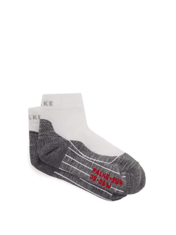 Falke Ru4 Invisible Trainer Socks In White