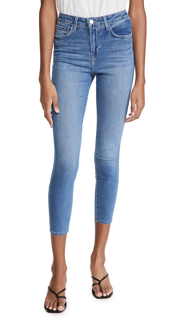L Agence 'margot' High Rise Skinny Jeans In Dover