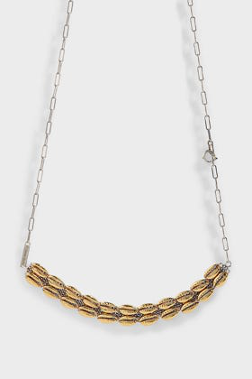 Isabel Marant Shell-Embellished Choker Necklace