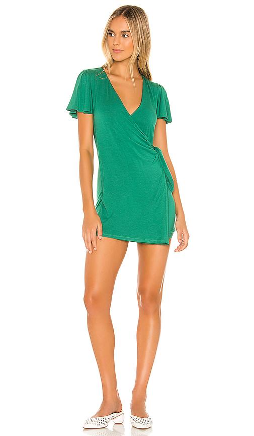 Privacy Please Jessa Mini Dress In Pine Green