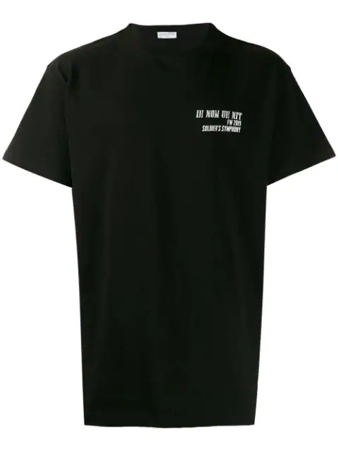 Ih Nom Uh Nit Oversized Logo T In 009 Black