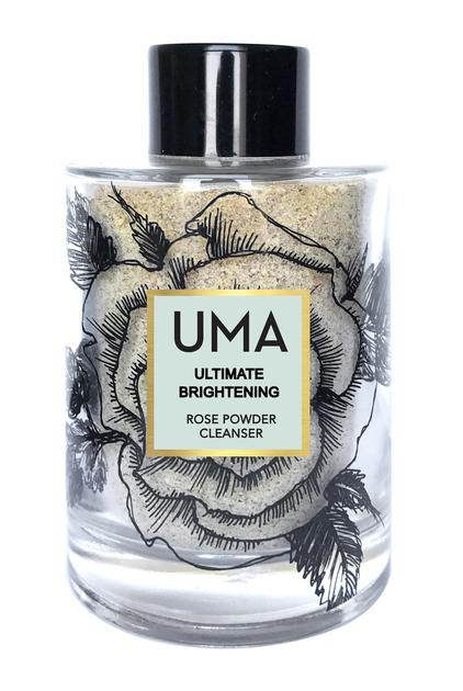 Uma Oils Ultimate Brightening Rose Powder Cleanser