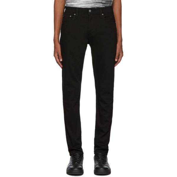 Levi's Levis Black 512 Slim Taper-fit Jeans In Nightshine