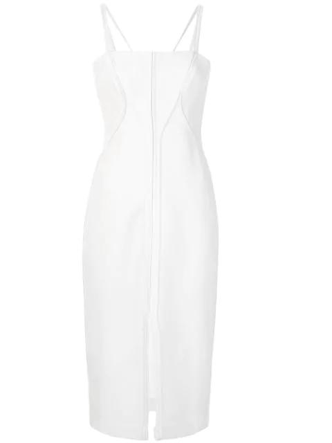 Dion Lee Annex Bustier Dress In White