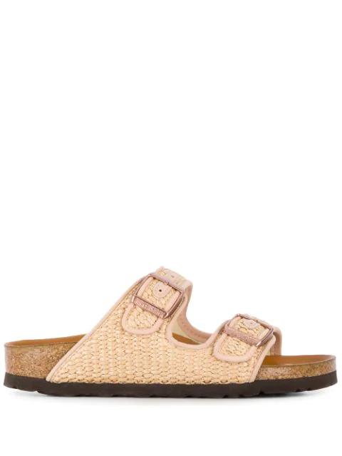 Birkenstock Arizona Double Strap Sandals In Brown