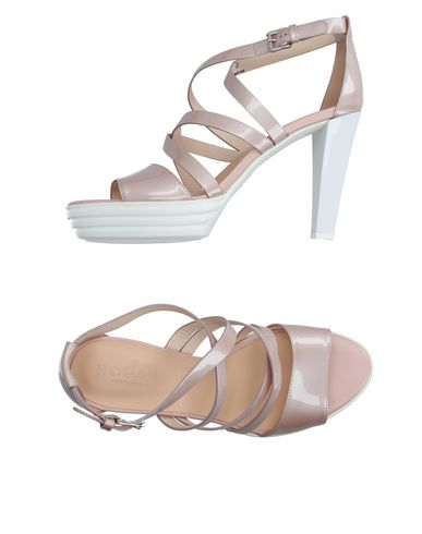 Hogan Sandals In Light Pink