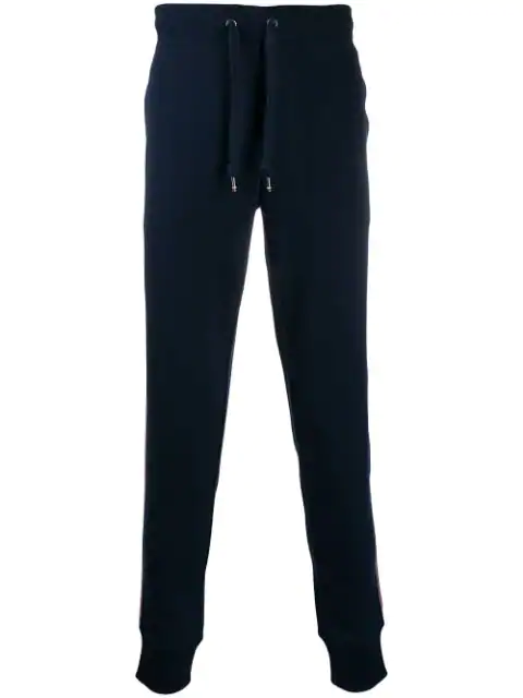 Tommy Hilfiger Drawstring Track Trousers In Blue