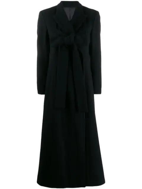 Jean Paul Gaultier 1993 Long Coat In Black