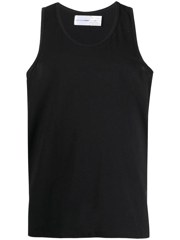 Comme Des Garçons Shirt Comme Des Garcons Shirt Black Jersey Tank Top
