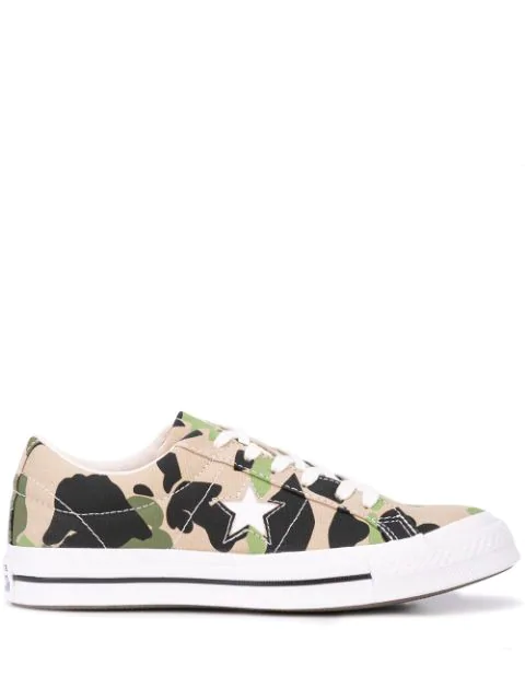Converse Opening Ceremony Chuck 70 Archive Prints Remixed Ox Sneaker In Green