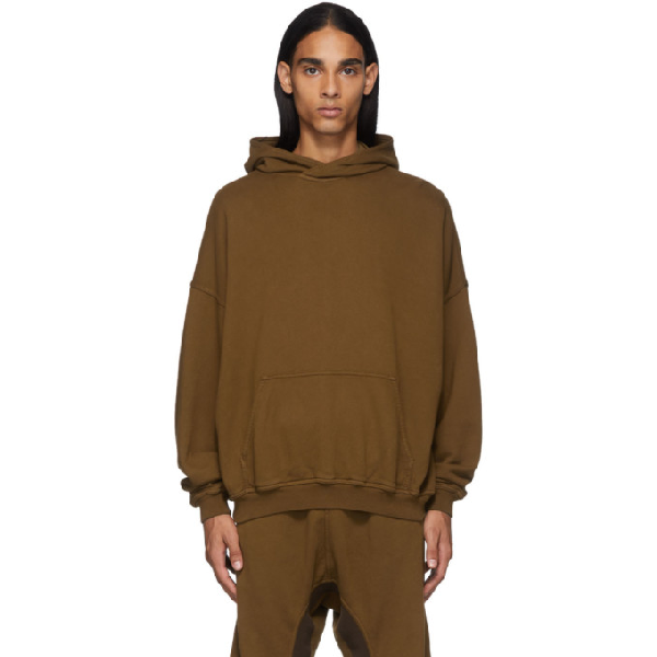 Haider Ackermann Brown Perth Hoodie In 074 - Autom