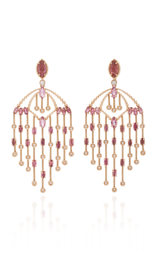 Carla Amorim Memories Earrings In Pink