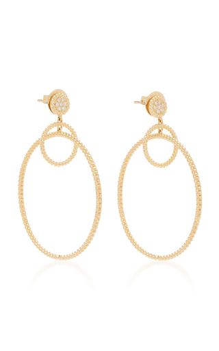 Carla Amorim Gathering Earrings In Yellow