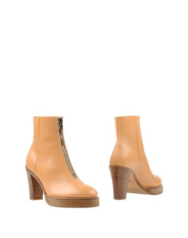 Acne Studios Ankle Boot In Beige