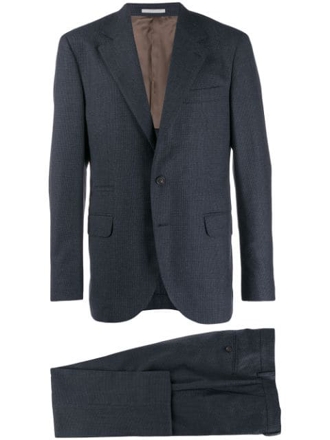 Brunello Cucinelli Two Piece Suit In Blue