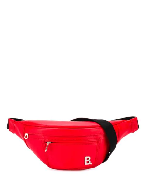 Balenciaga Soft Xs Beltpack In 6512 Vivid Red