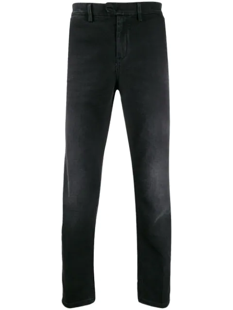 Dondup Pablo Slim Fit Jeans In Black
