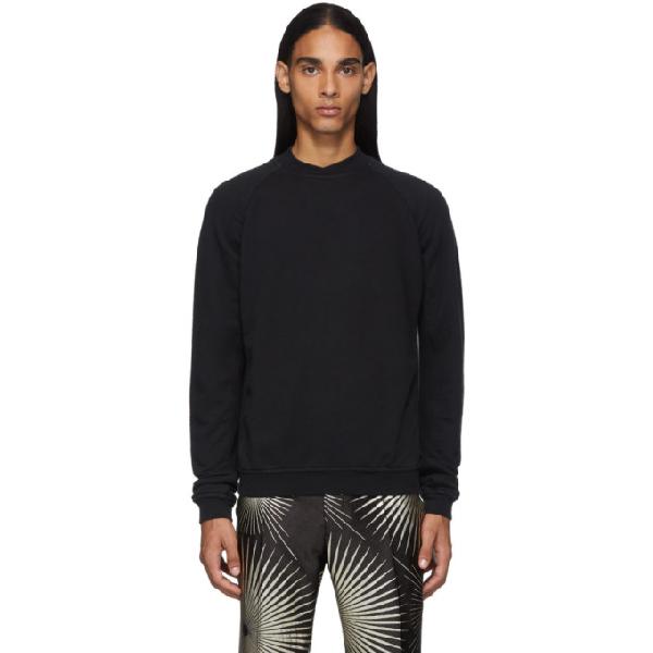 Haider Ackermann Perth Crew-neck Sweatshirt In 096 - Black