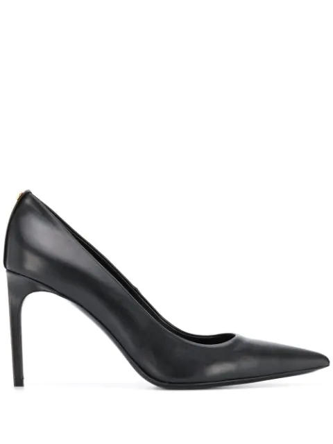 Tom Ford Screw Pumps In Blk