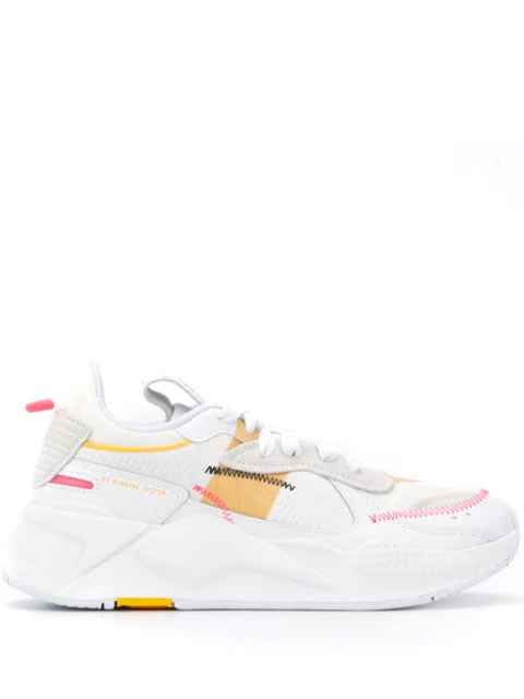 Puma Chunky Low Top Sneakers In  White
