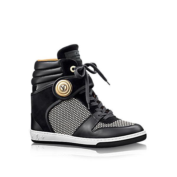 Louis Vuitton Postmark Sneaker Boot In Noir