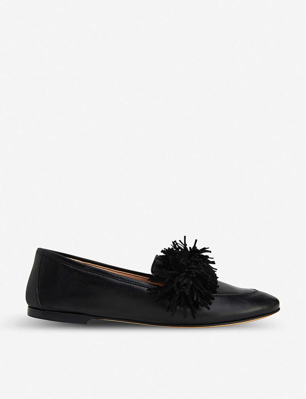 Lk Bennett Lera Leather Tassel Loafers