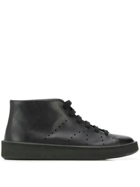 Camper Courb Boots In Black