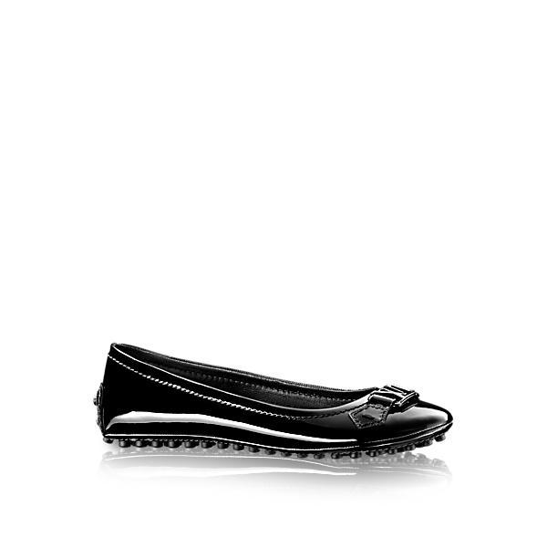 Louis Vuitton Oxford Flat Ballerina In Noir