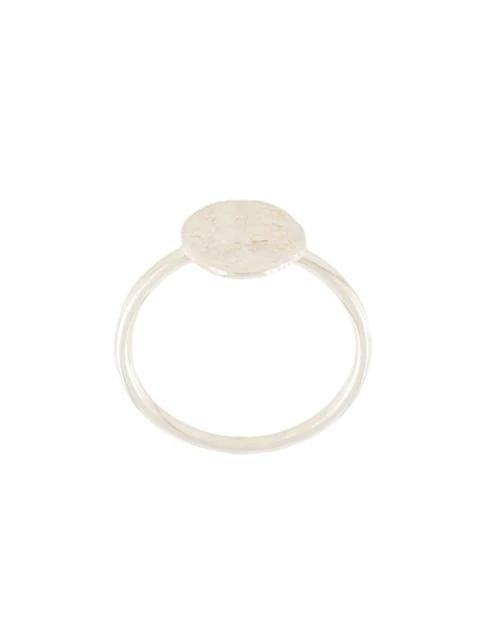 Natasha Schweitzer Mini Coin Ring In Silver