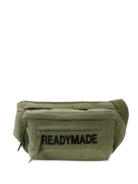 Readymade Logo Belt Bag In Green