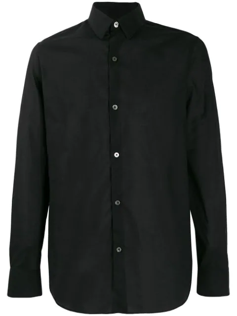 Ann Demeulemeester Classic Collar Shirt In Black