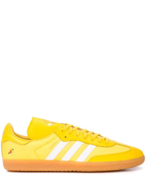 Adidas Originals X Oyster Holdings Samba Og Sneakers In Yellow