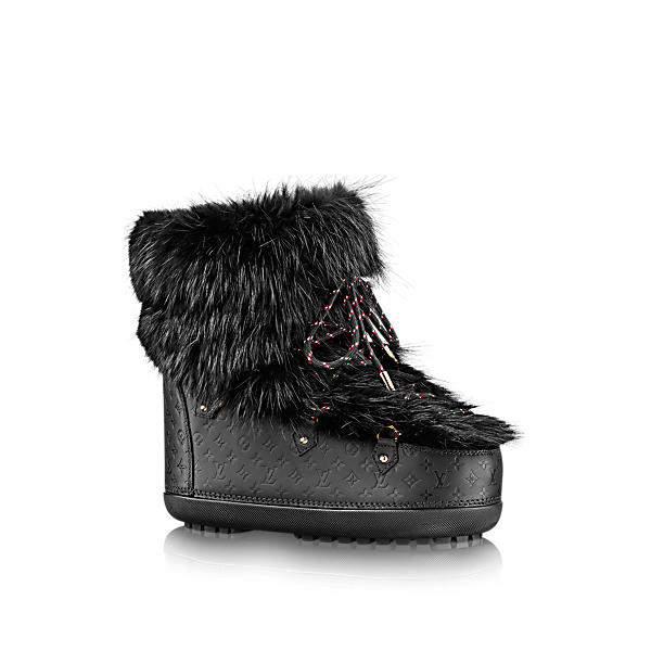 494b77aaff18 Louis Vuitton Off Piste Flat Half Boot