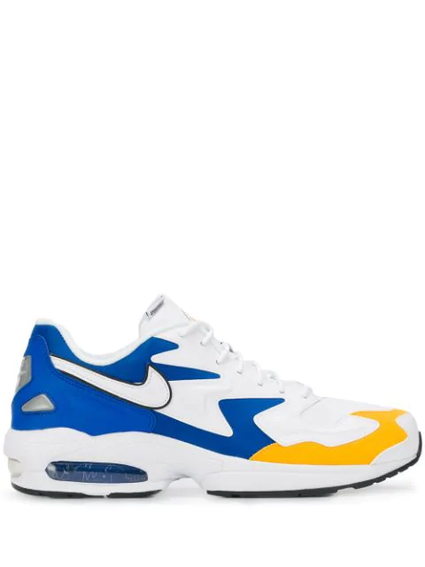 Nike Air Max2 Light Premium Sneakers In White