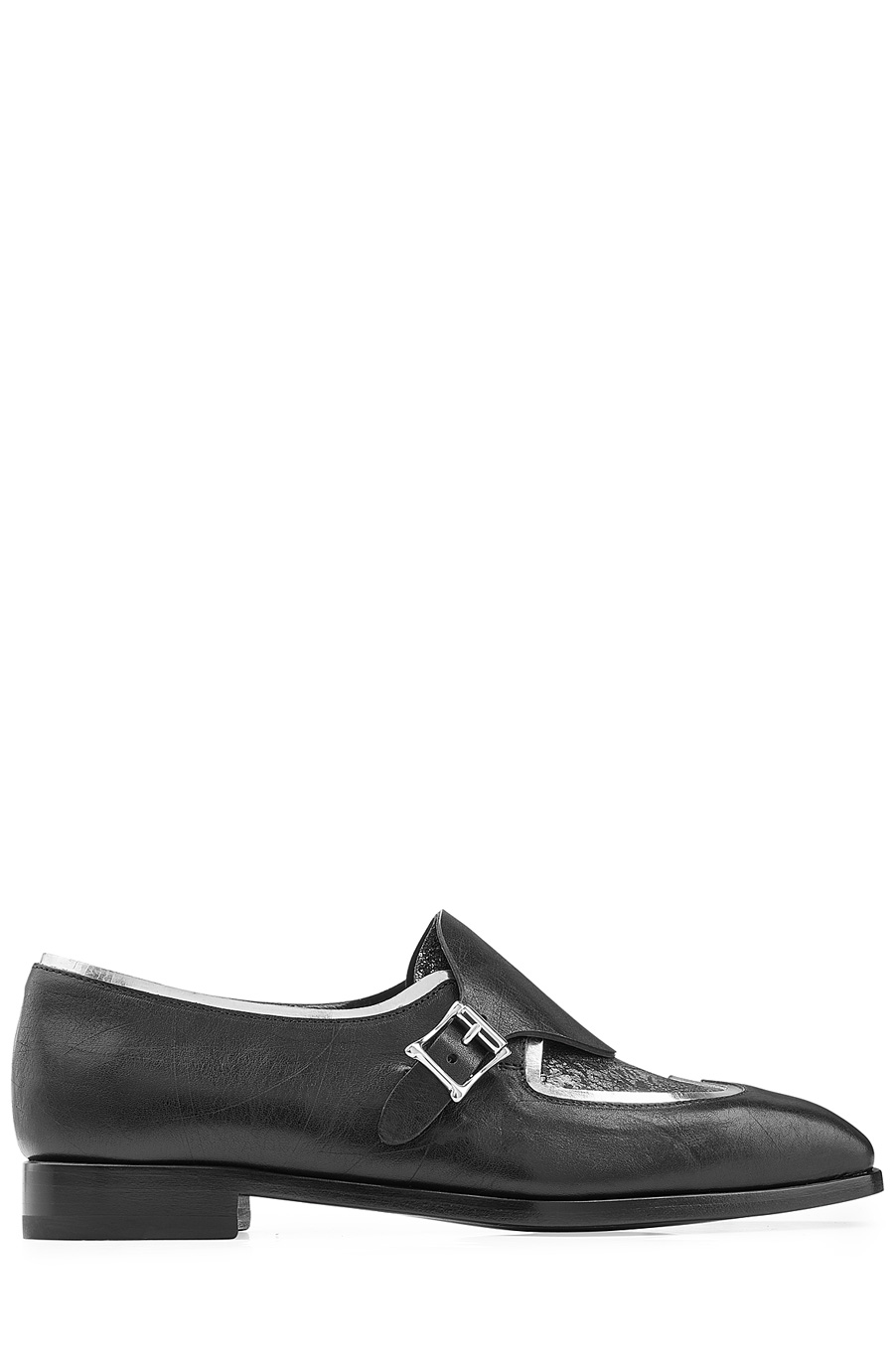 Rupert Sanderson Romany Leather Loafers In Black