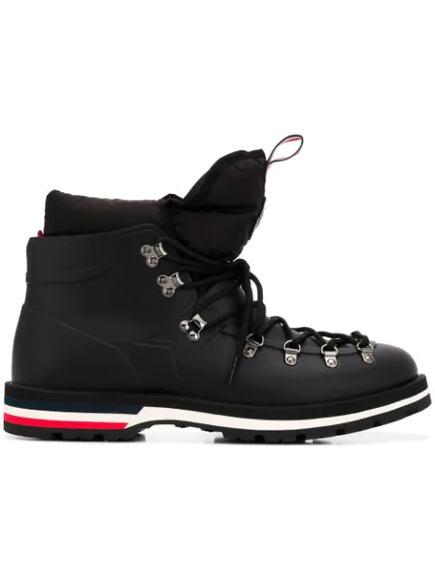 Moncler Men's Henoc Water-resistant Hiking Boots In Black