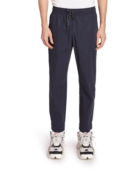 Kenzo Men's Tapered Crop Pants In Dark Blue